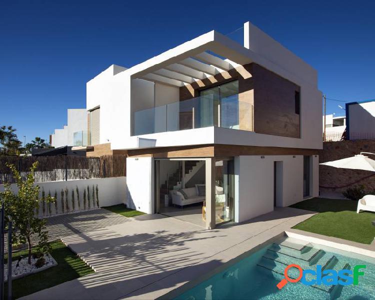 Villas independientes con pisc