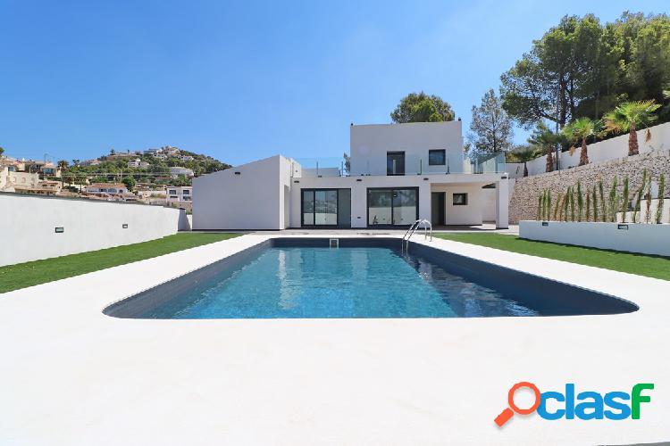 hermosa villa moderna de nueva