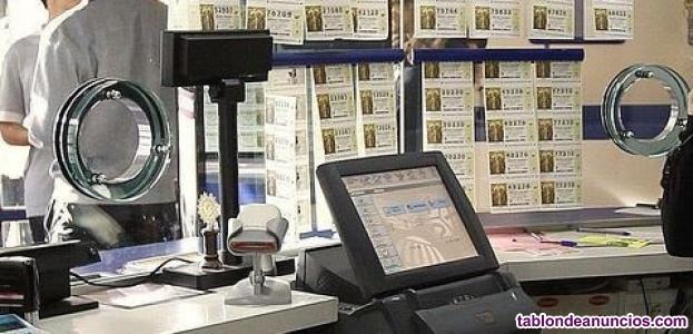 Administración de lotería en venta