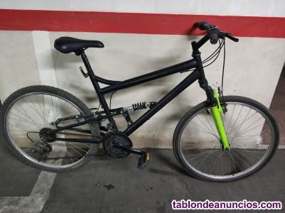 Bici montaña doble suspensión