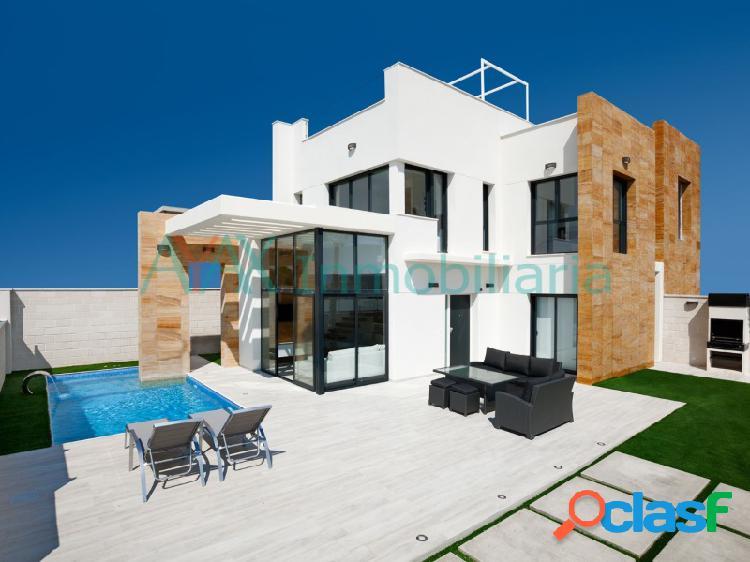 Complejo residencial compuesto por 16 villas independientes
