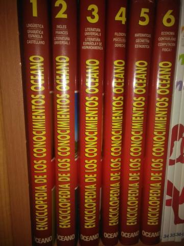 Enciclopedia de los Conocimientos 16 tomos nueva
