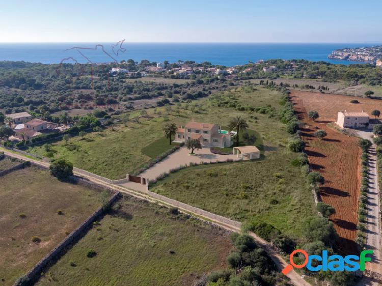 Espectacular casa rústica con vistas al mar