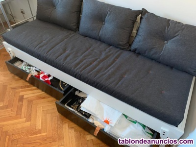 Se vende divan cama ikea