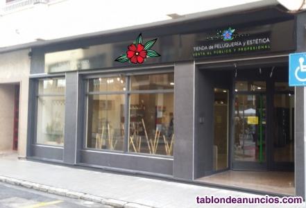 Traspaso tienda de peluqueria y estética-salón de belleza