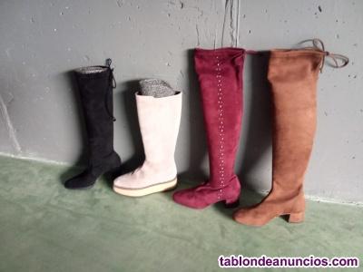 Chollo! lote 60 pares nuevos, piel, fabricación española