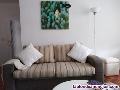 Vendo sofá cama y butaca reclinable