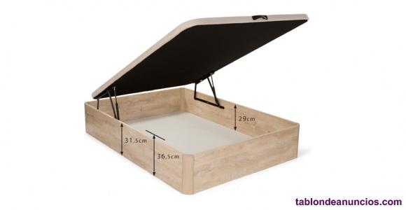Canape abatible gran capacidad nuevo, 150x190cm