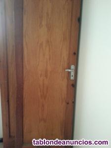Puertas nuevas madera maciza