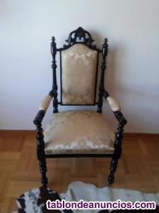 2 sillones antiguos como nuevos
