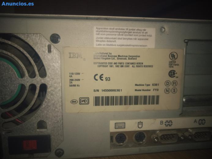 Ordenador IBM 425SX/Si