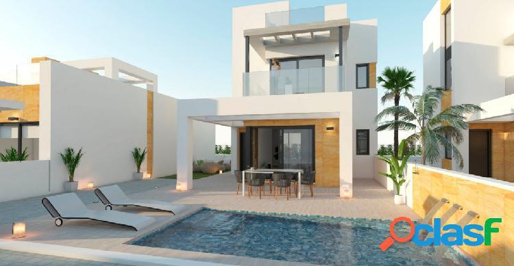 Un residencial de 9 villas en parcelas independientes, con