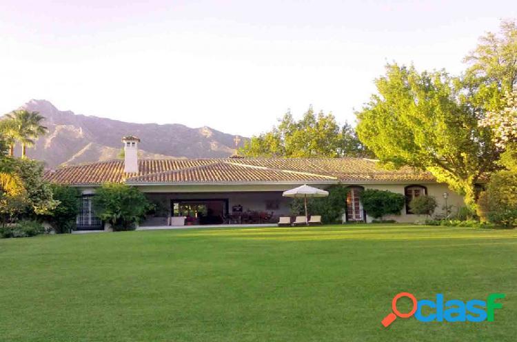 Villa en Milla de Oro, alquiler corta temporada