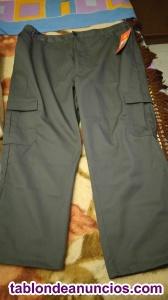 2 pantalones xxl de 107 cm con varios bolsillos nuevo por 5
