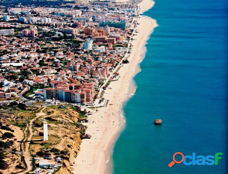 Chalet en primera línea de playa en Matalascañas