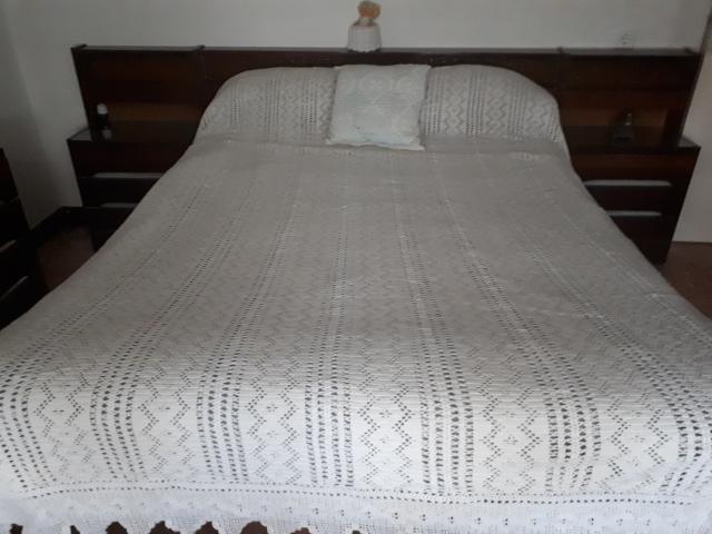 Colcha cama ganchillo