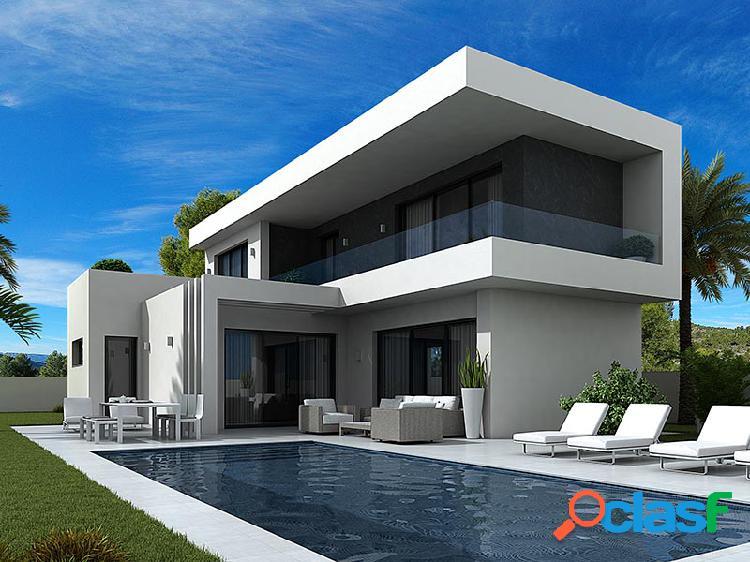 Hermosa villa de estilo Art No