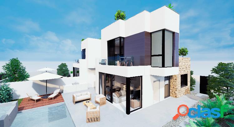 Nueva construcción de villas u