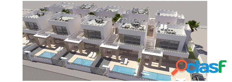 Nuevas modernas villas con pis