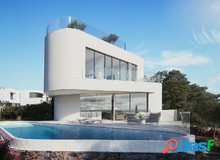 Villa de diseño moderno se enc