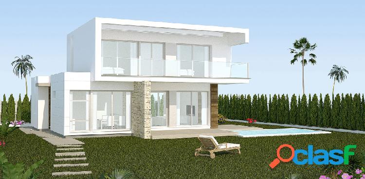 Villas de obra nueva en venta
