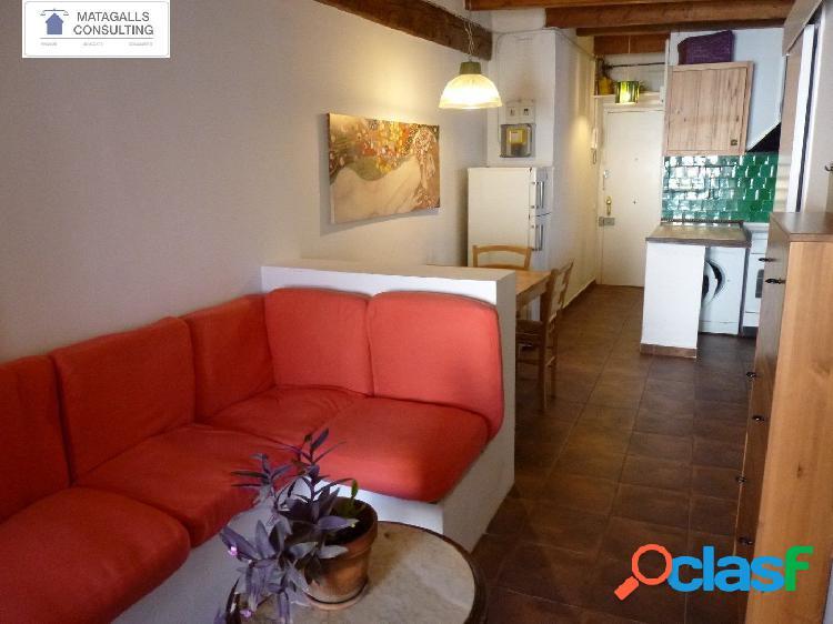 Encantador pis de 46 m2 al Raval