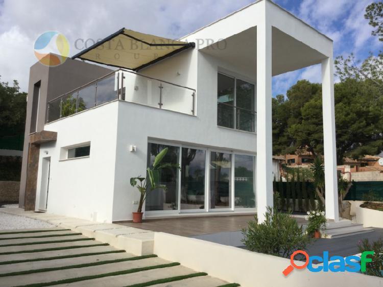 Villa de Lujo de obra nueva en La Nucia