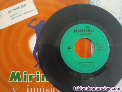 Lote de 3 discos single promo mirinda año  ver fotos