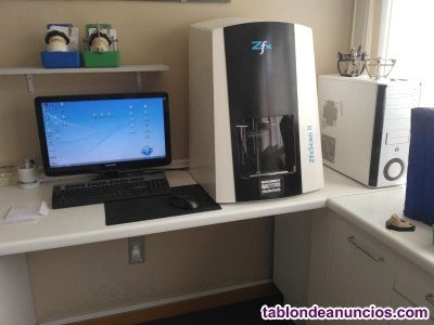 Se vende equipo cad de laboratorio dental.