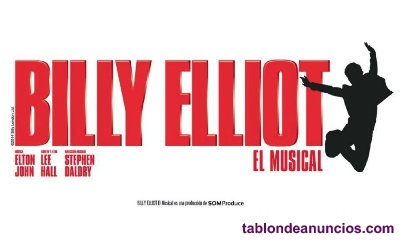 Vendo entradas billy elliot musical