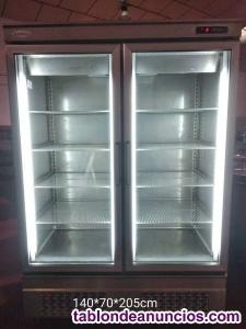 Armario de refrigeracion puertas cristal