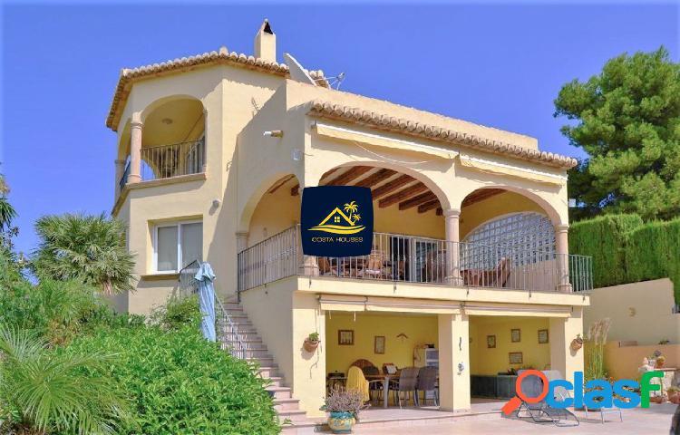 Villa Mediterránea en Javea · TOSCAL | Vistas Valle y Mar