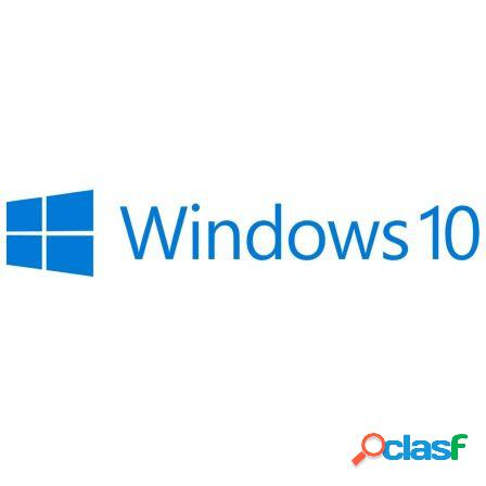 Licencia windows 10 pro - 32bits - espanol - dsp - 1pc