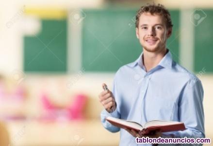 Buscamos profesor/a de estadistica para zona ciudad