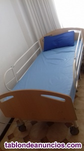 Cama articulada hospitalaria