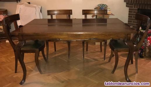 Conjunto mesa comedor consola