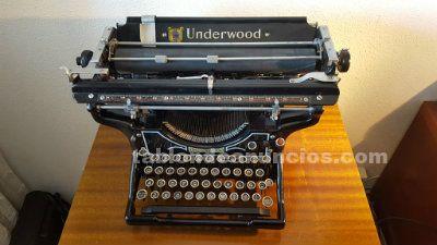 Maquina de escribir underwood nº 3