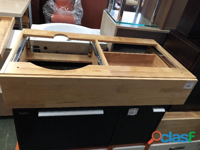 Mueble de baño con leja color pino