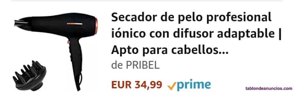 Se vende espectacular secador iónico con sensor de