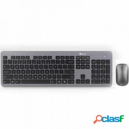 Teclado + raton inalambricos ngs matrix kit - teclado ultra