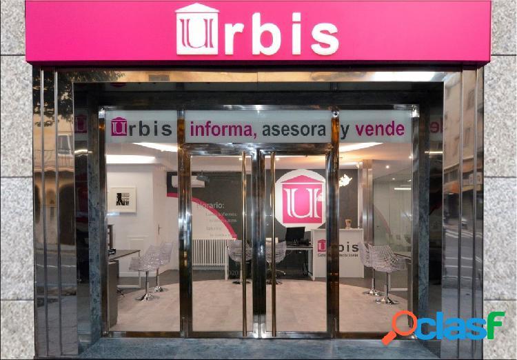 Urbis te ofrece local diáfano en el Arrabal