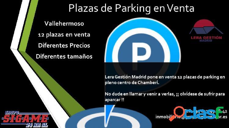 2 Plazas de parking en venta