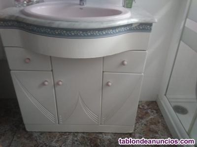 Conjunto de muebles para baño