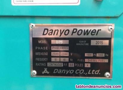 Grupo generador electrógeno diesel 40 kva