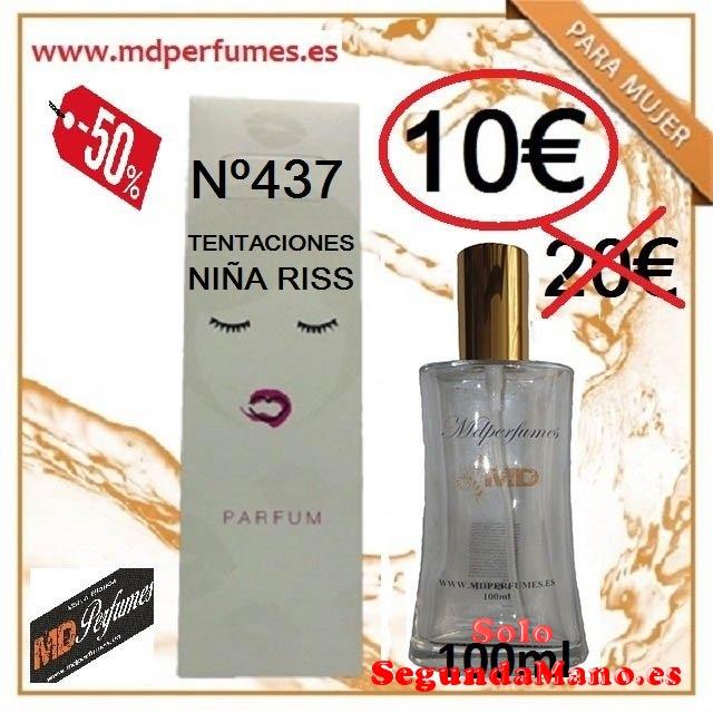 Perfume Equivalente mujer n437 Tentaciones Niñas Riss 100ml