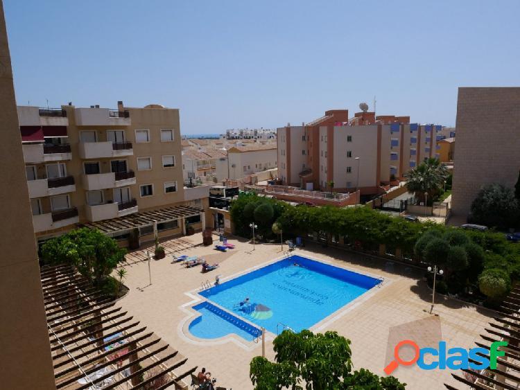 Piso con 1 dormitorio en Cabo Roig con vistas despejadas al