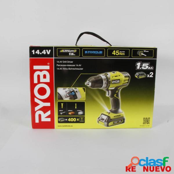 Taladro/Atornillador RYOBI R14DDE-LL15S NUEVO PRECINTADO
