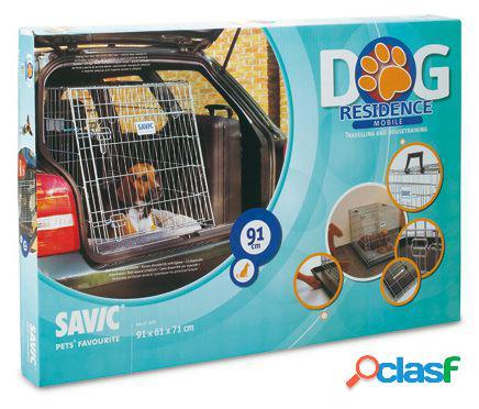 Savic Jaula Plegable Móvil Dog Residence 91x61x71 cm