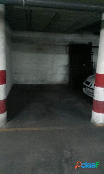 Se vende plaza de garaje abierta en huerta pley