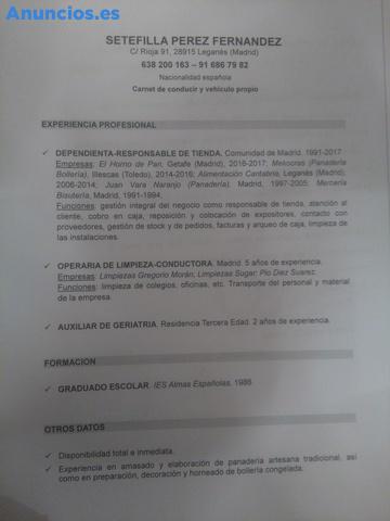 YO BUSCO TRABAJO EN MADRID DEPENDIENTA,MADRID,,